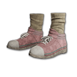 Hi-top Canvas Sneakers (Pink)