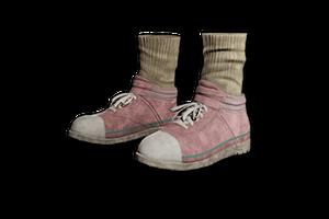 Hi Top Canvas Sneakers Pink