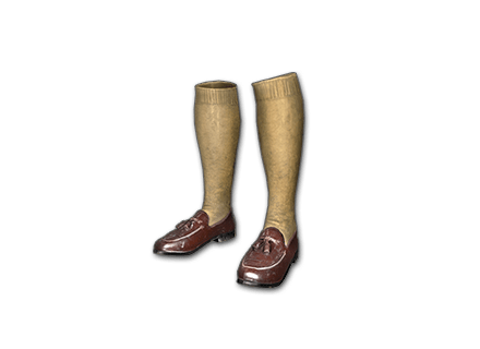 PUBG Zest Loafers with Socks skin icon