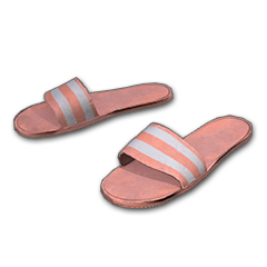 Striped Slippers (Pink)
