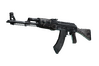 AK-47 | Black Laminate (Well-Worn)
