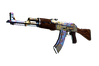 StatTrak™ AK-47 | Case Hardened (Well-Worn)