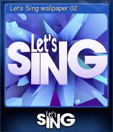 Let's Sing wallpaper 02