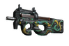 StatTrak™ P90 | Emerald Dragon (Minimal Wear)