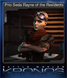 Prio Seda Rayne of the Residents (Trading Card)