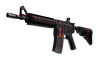 M4A4 | Radiation Hazard (Well-Worn)