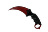 ★ Karambit | Crimson Web (Minimal Wear)
