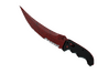 ★ StatTrak™ Flip Knife | Crimson Web (Minimal Wear)