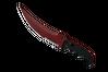 ★ StatTrak™ Flip Knife | Crimson Web (Minimal Wear)