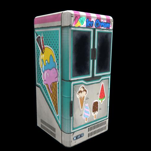 Ice Cream Freezer as seen on a Steam Market