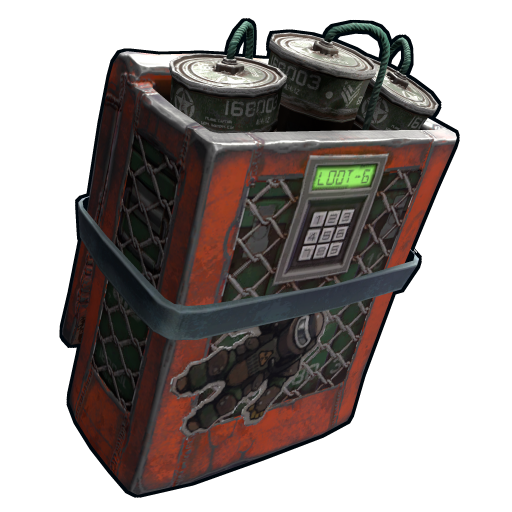 Cargo Heli Satchel Charge as seen on a Steam Market
