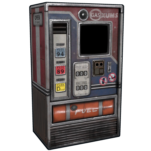 Oxums Gas Pump as seen on a Steam Market