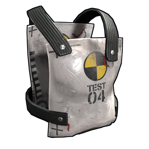 Test Dummy Chestplate as seen on a Steam Market