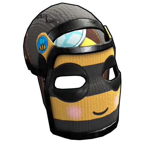 Bee Cosplay Facemask as seen on a Steam Market