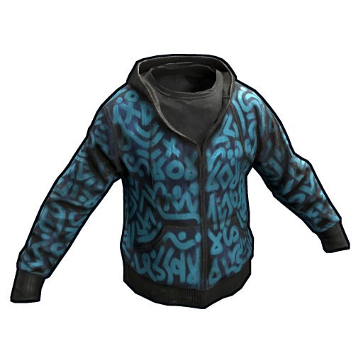 Azul Hoodie as seen on a Steam Market
