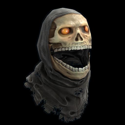 Death Mask as seen on a Steam Market