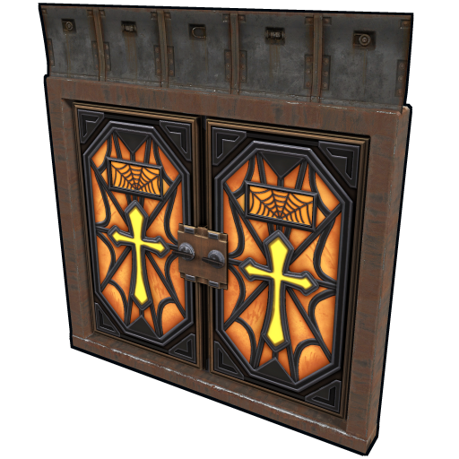 Crypt Armored Double Door as seen on a Steam Market