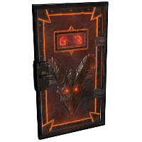 Molten Visage Armored Door