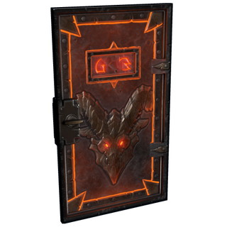Molten Visage Armored Door