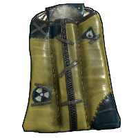 Salvaged Hazmat Bag