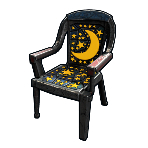 Night Sky Chair as seen on a Steam Market