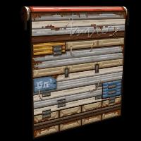 Pixel Garage Door