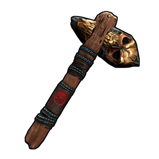 Bite Stone Hatchet as seen on a Steam Market