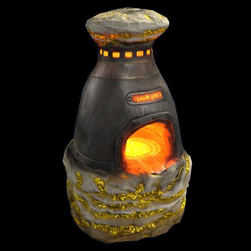 Sulfur Furnace as seen on a Steam Market