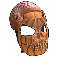 Evil Pumpkin Facemask