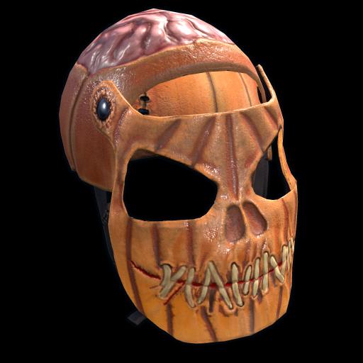 Evil Pumpkin Facemask as seen on a Steam Market