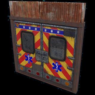 Ambulance Double Door