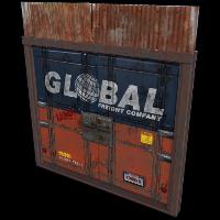 Global Freight Double Door