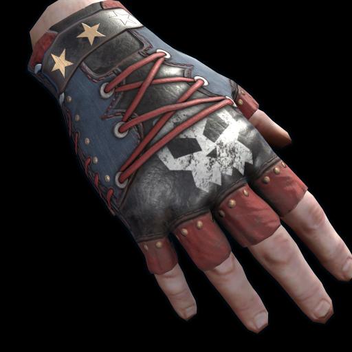 Punkish Gloves as seen on a Steam Market