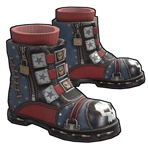 Punkish Boots as seen on a Steam Market