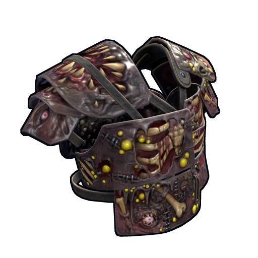Metal Zombie Vest as seen on a Steam Market