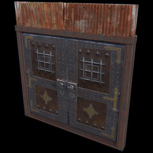 Castle Double Door as seen on a Steam Market