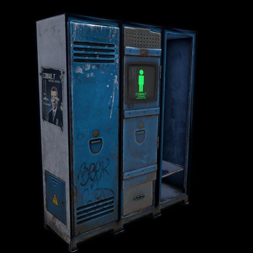 Cobalt Personal Locker as seen on a Steam Market