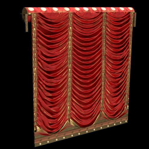 Concert Curtains as seen on a Steam Market