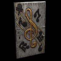 Musical Notes Door