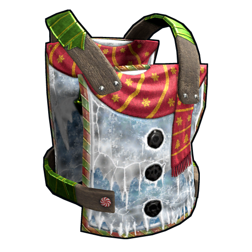 Evil Snowman Chestplate as seen on a Steam Market