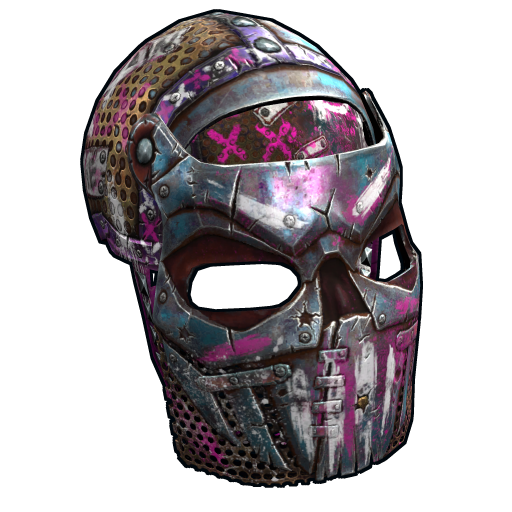 Apocalyptic Knight Facemask as seen on a Steam Market