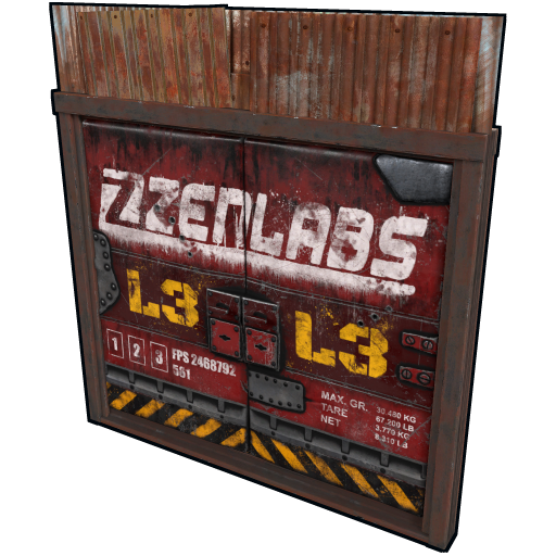Oil Rig Double Door as seen on a Steam Market