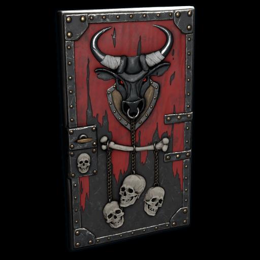 Bull Rage Door as seen on a Steam Market