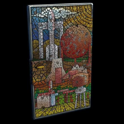 Mosaic Door as seen on a Steam Market