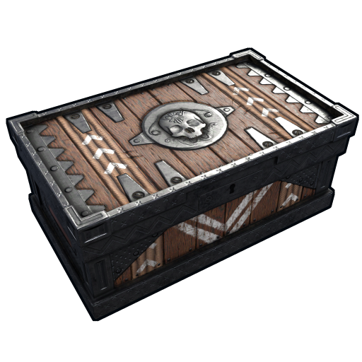 Cursed Soul Chest as seen on a Steam Market