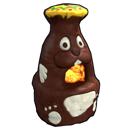 Chocolate Bunny Furnace as seen on a Steam Market