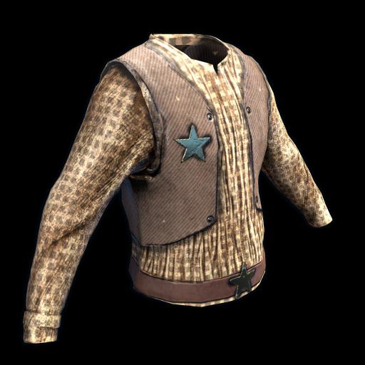 Cowboy Shirt as seen on a Steam Market