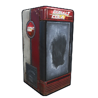 Cobalt Cola Fridge