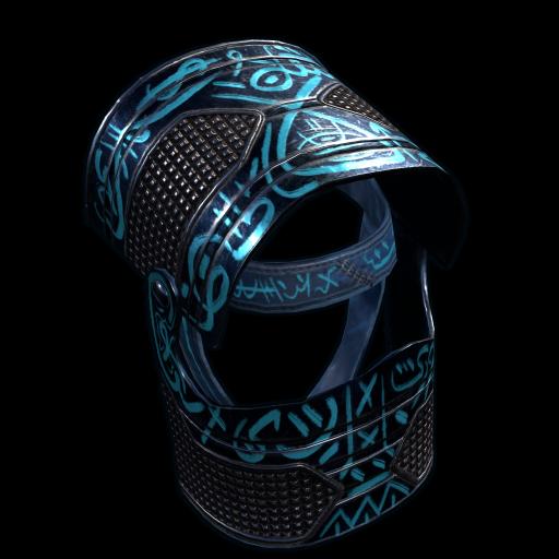 Azul Helmet as seen on a Steam Market