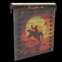 Rust Rider Door